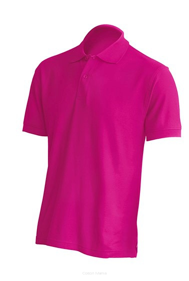 Polo Regular 210 MEN FUCSIA