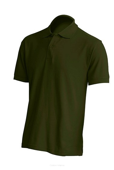 Polo Regular 210 MEN FOREST GREEN