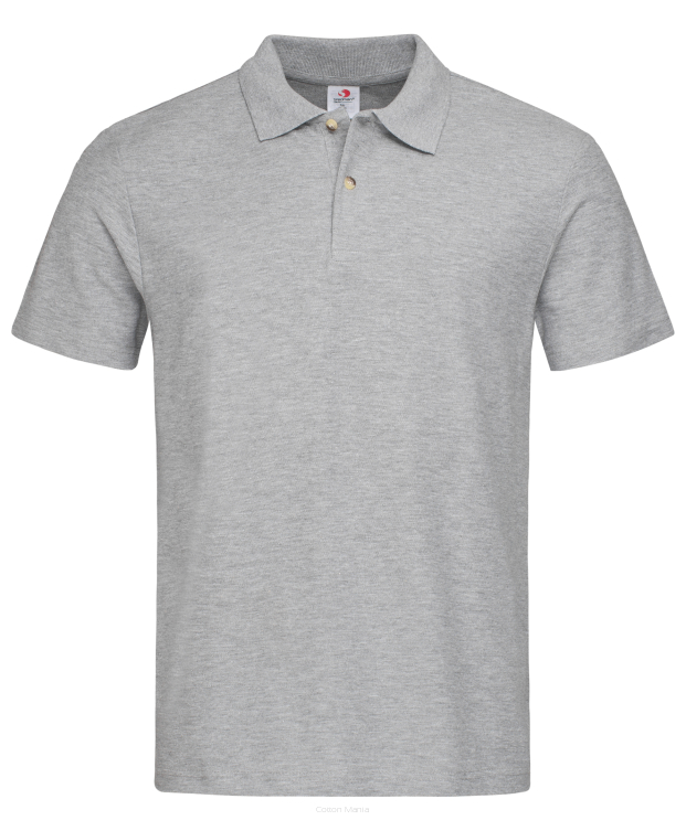 Stedman 3000 Polo (Grey Heather) GYH