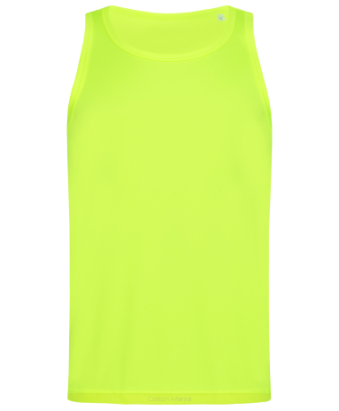 Stedman 8010 Active Tank Top (Cyber Yellow) CBY