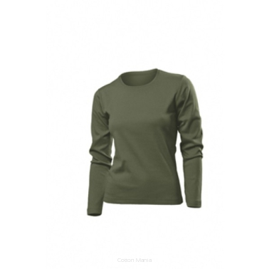 Stedman 2140 Comfort Long Sleeve Women KHA