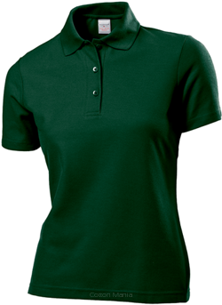 Stedman 3500 Polo 65/35 Women (Bottle Green) BOG