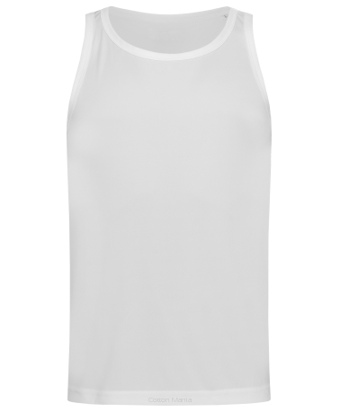 Stedman 8010 Active Tank Top (White) WHI