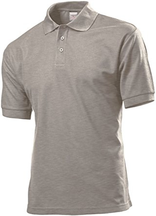 Stedman 3300 Polo 65/35 (Grey Heather) GYH
