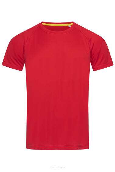 Stedman 8410 Active Raglan (Crimson Red) CSR