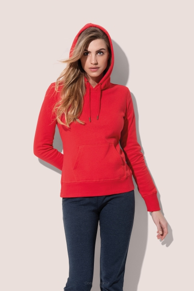Stedman 5700 Active Hoody (Crimson Red) CSR