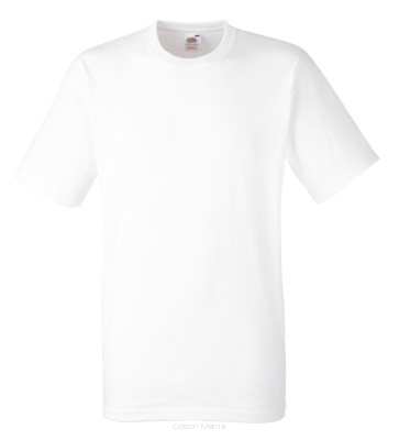 Fruit Of The Loom Heavy Cotton T White