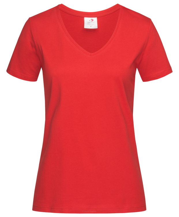 Stedman 2700 V-Neck Women (Scarlet Red) SRE