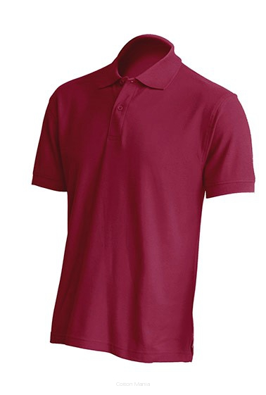 Polo Regular 210 MEN BURGUNDY