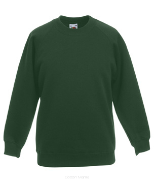 Fruit Of The Loom Kids Reglan Sweat BOG
