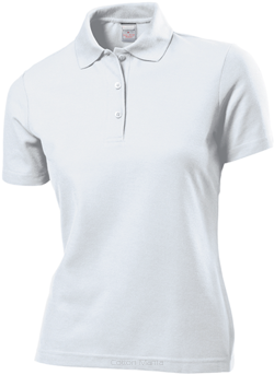 Stedman 3500 Polo 65/35 Women (White) WHI