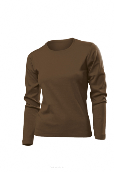 Stedman 2140 Comfort Long Sleeve Women BRO
