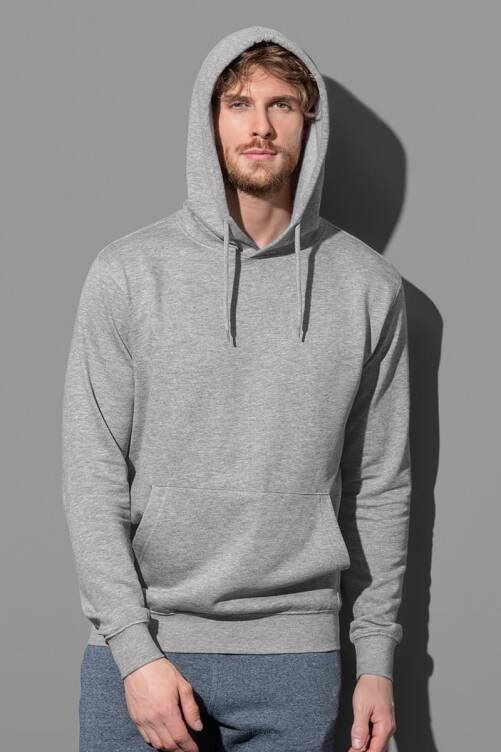 Stedman 4100 Hooded Pullover (Grey Heather) GYH
